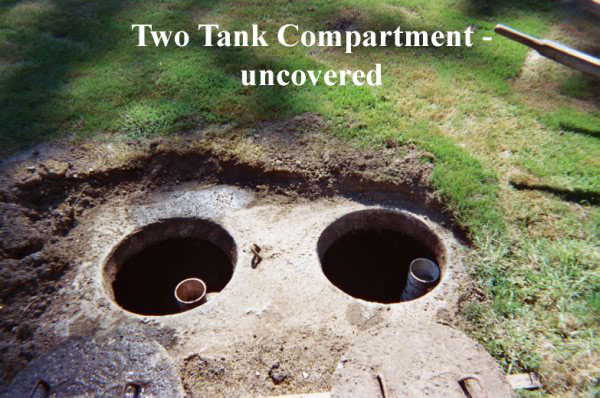 Two Tank Compartment monroe septic